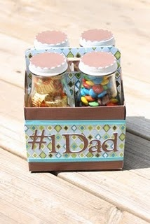Put daddies favourite nibbles in :)