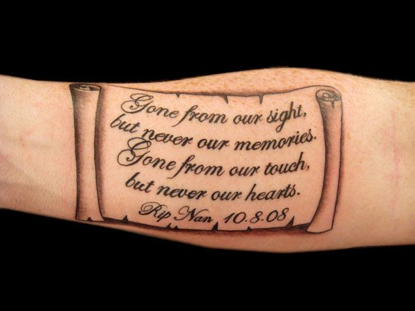 Old Style Memoriam Tattoo Idea 8531 Santa Monica Blvd West Hollywood, CA 90069 - Call or stop by anytime. UPDATE: Now ANYONE can call our Drug and Drama Helpline Free at 310-855-9168.