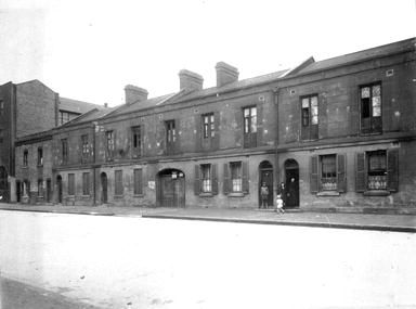 Harrington St (99-109), The Rocks 1 October 1919 NSCA CRS 51, Demolition books, 1900-1949 NSCA CRS 51/750 City of Sydney Archives