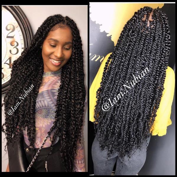 Passion Twists Twist Braid Hairstyles Twist Hairstyles