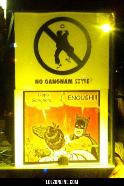 Oppa Gangnam... Enough!!!#funny #lol #lolzonline
