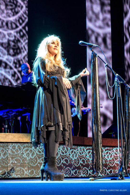 Stevie Nicks....Nov. 2nd, 2016...Amalie Arena...Tampa, FL....24 Karat Gold Tour with The Pretenders