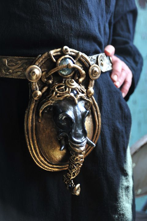 elephant codpiece, made for the Steampunk Overlord ...