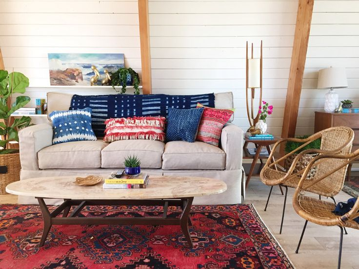 West Elm California Retro Beach House Makeover