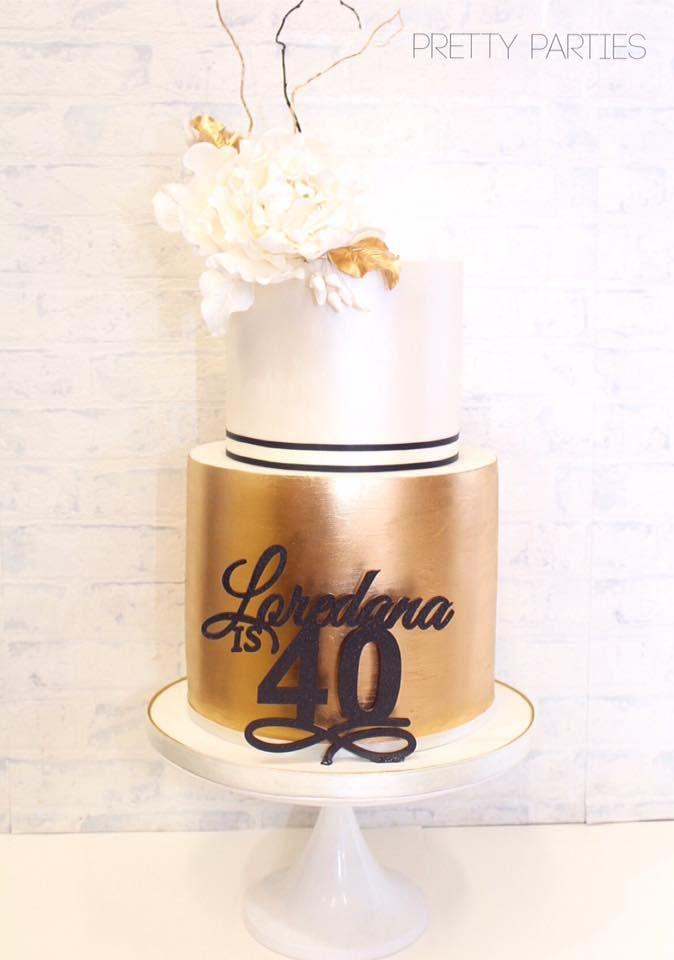 Pretty Parties - Custom Cakes B-06 Birthday Cake www.prettyparties.net.au