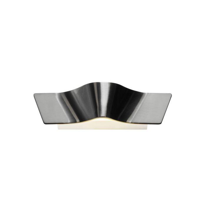 Futuristic Silver Modern Wall Light