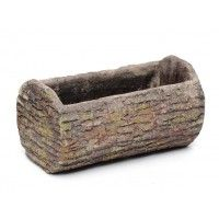 Our 25 cm Clay Bark Planter Trough is an excellent outdoor accessory for the keen gardener