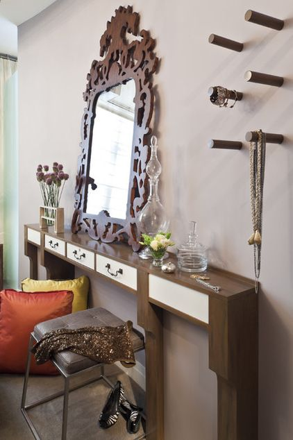 Simple Console Table With Drawers