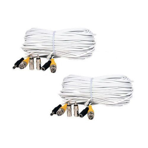 47 best electronics security surveillance images on pinterest videosecu 2 pack 100ft feet video power cables bnc rca security camera extension white wires cords for cctv dvr surveillance system c21 by videosecu publicscrutiny Image collections