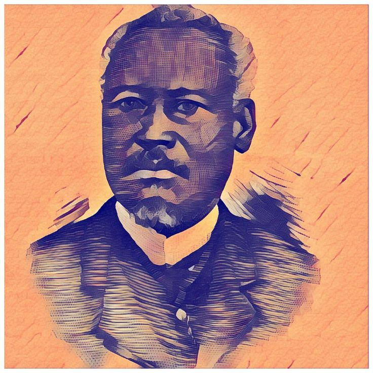President Florvil Hyppolite was credited for many infrastructure accomplishments during his short government in Haiti. One of them is the establishment of telephone lines. #haiti #1890s #president #floreville #hyppolite #art