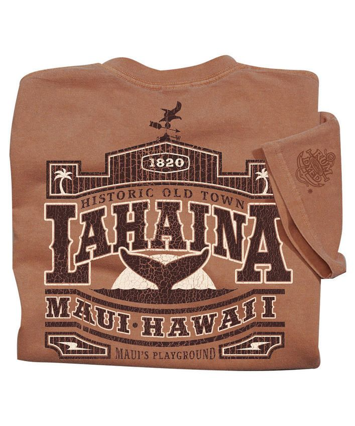 Old Town Lahaina - Rum-Dyed The Classic Crew