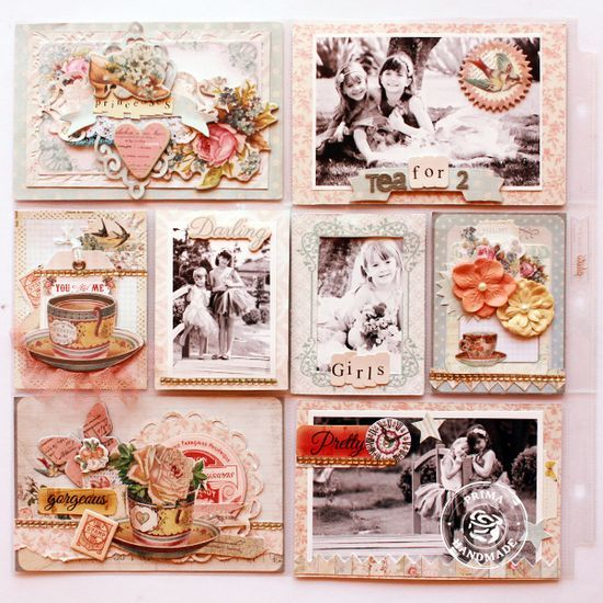 Step-by-Step Pocket Page Scrapbooking with Larissa