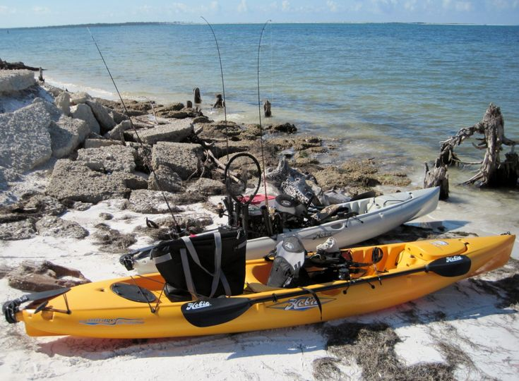 25 best kayaks canoes and sups images on pinterest for Kayak fishing gear