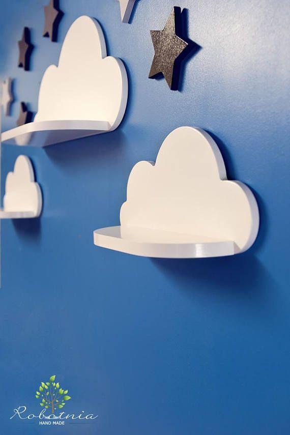 Cloud Shelf Shelf For Baby Nursery Kids Room Wall