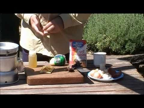 how to make pasta on a trangia