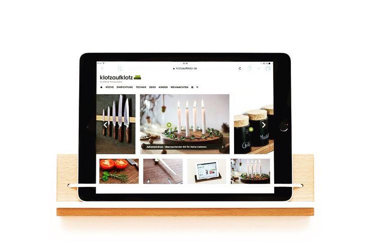 Unsere Tablet-Wandhalterung - geeignet für iPads und Android Tablets ☄️