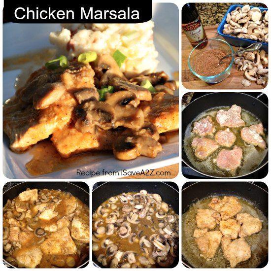 Best Chicken Marsala Recipe that is AMAZINGLY DELISH!!!