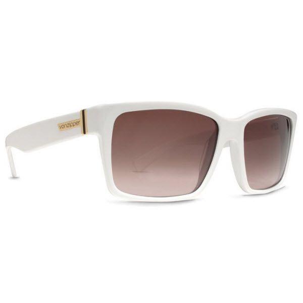 #VonZipper #Sunglasses #Elmore White Frame with Brown Lenses