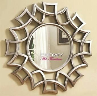 """""""pigura cermin, mirror silver """""""