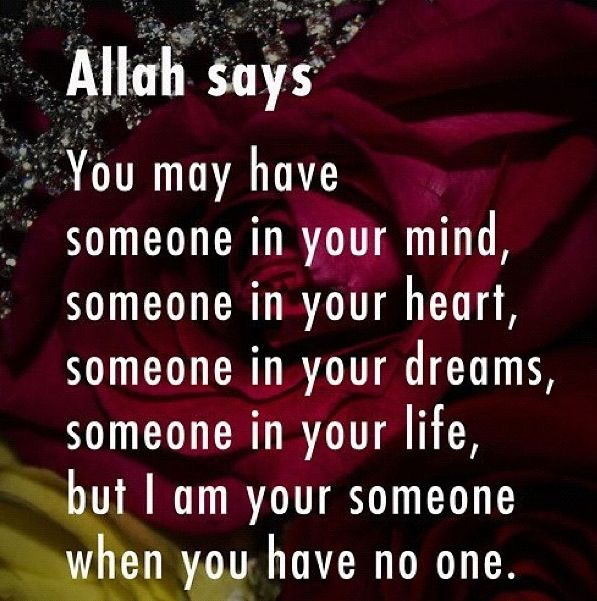 I am your someone...
