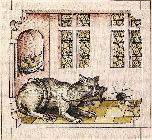 * Antonius von Pforr, Buch der Beispiele, Swabia ca. 1475-1482 Universitätsbibliothek Heidelberg, Cod. Pal. germ. 84, fol. 232v
