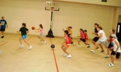 Fun Youth Basketball Drills & Games