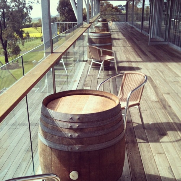 Now you can enjoy @rueclermarket food and #terindahestate wines on our gorgeous sunny deck! #deck #verandah #view #beach #winery #vineyard #geelong #bellarine #rueclermarket #andypye - @rueclermarket- #webstagram