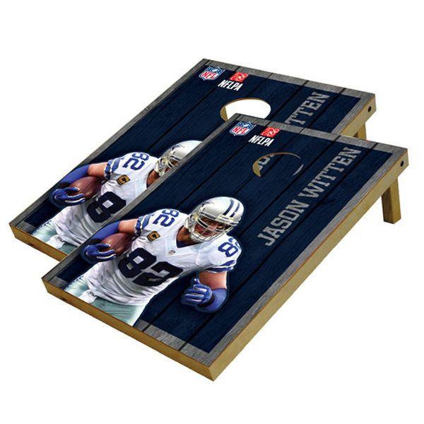 Jason Witten Dallas Cowboys 2' x 3' Player Vintage Authentic Tailgate Toss Set - $179.99