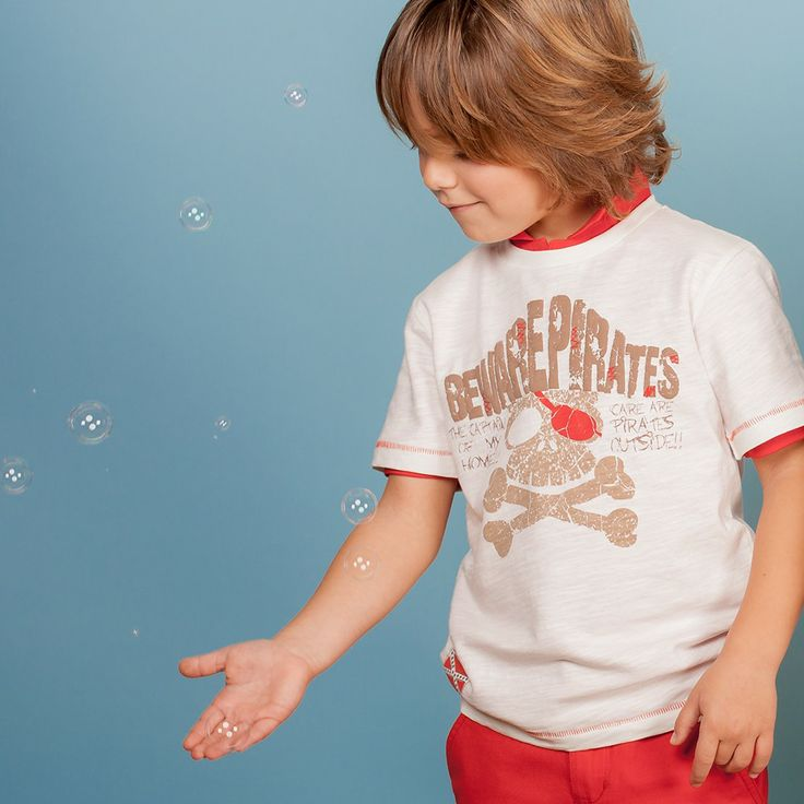 Camiseta niño Charanga Primavera Verano 2014