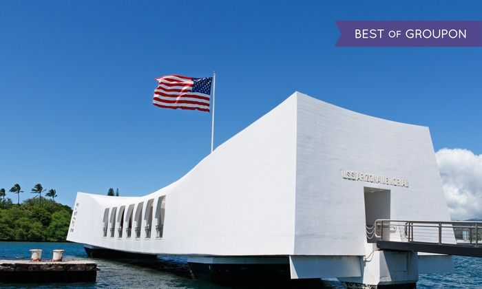 Aloha Pearl Harbor Tour - Multiple Locations: Pearl Harbor & Arizona Memorial Tour for 1–8 with Transportation from Aloha Pearl Harbor Tour (Up to 53% Off)