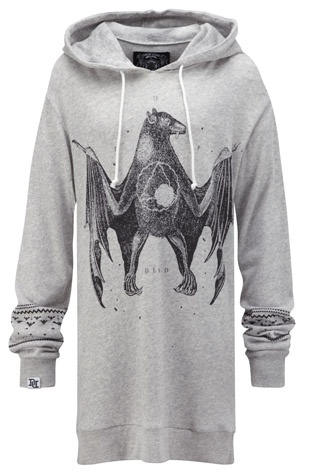 Chiroptera Hoodie, Drop Dead Clothing