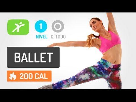 Aula de Ballet Circuit #1 com Movimentos de Ballet e Fitness Combinados
