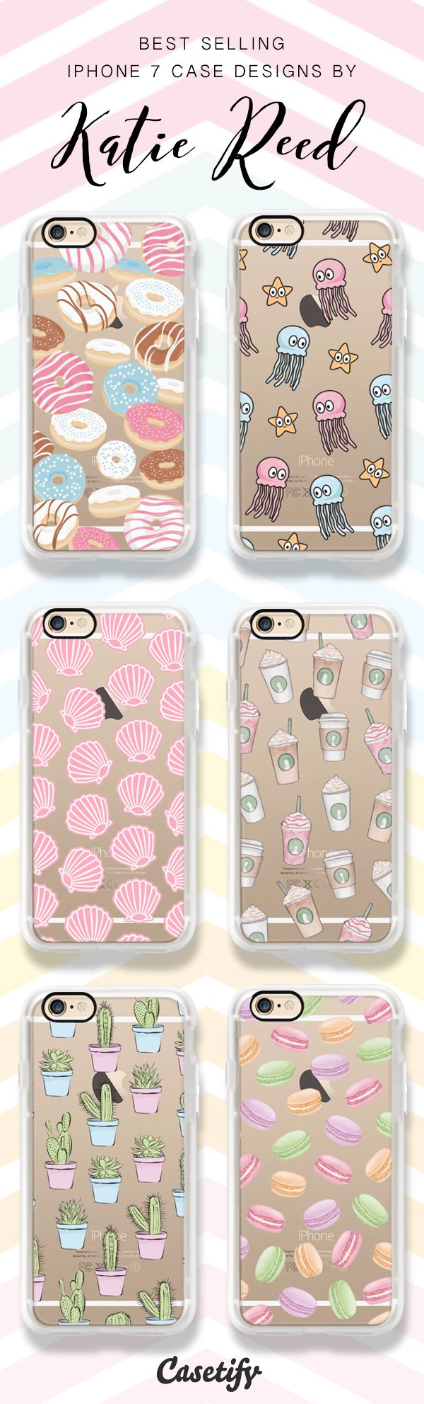 Check these best selling iPhone 7 case by Katie Reed! Shop them all here >> https://www.casetify.com/en_US/katscases/collection?order=popular