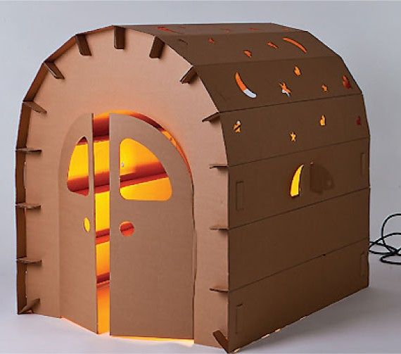 mileyhouse-kartonnen speelhuisje #kidsdesign