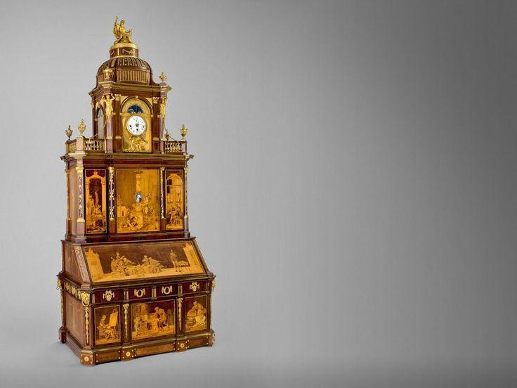 Meuble extraordinaire ! The Metropolitan museum of art Ce meuble à 200 ans une merveille d'ingénierie