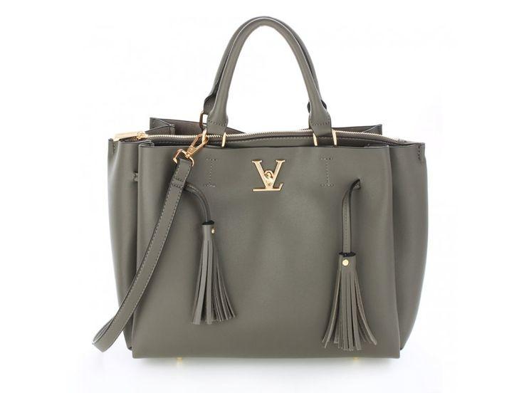 Sivá kabelka do ruky Olivia AG00551