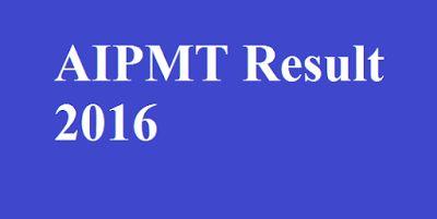 AIPMT Result 2016
