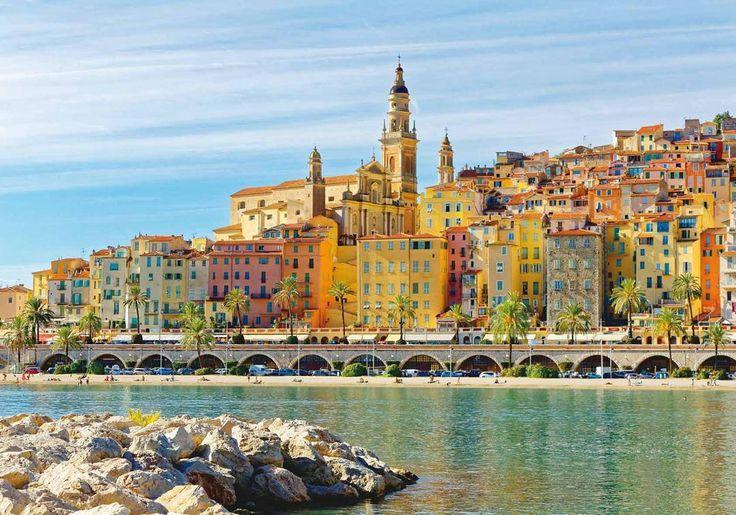 Fransa'nın güneydoğusunda, İtalya sınırında Provence-Alpes-Cote d'Azur bölgesinde LE PERLE