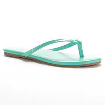 SONOMA life + style Thong Sandals - Girls