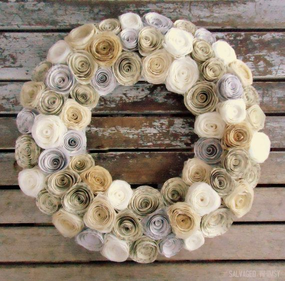 I planned on posting this a very long time ago, like last Thanksgiving!! I love these wreaths and they are so cheap and easy. They take quite a few coffee filters but you can get these for a buck…