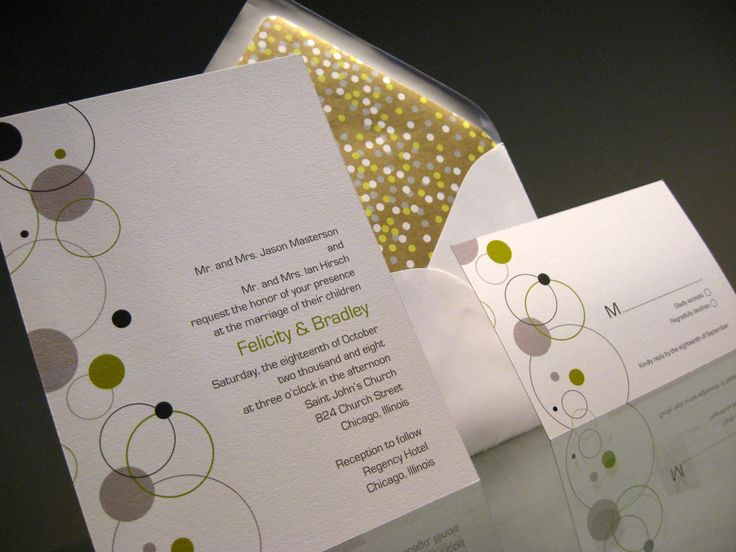 42 best Modern Wedding Invitations images on Pinterest