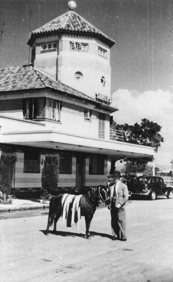 Surfers Paradise Hotel about 1950...Courtesy Aaron Jame