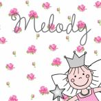 Geboortekaartje prinsesje 503