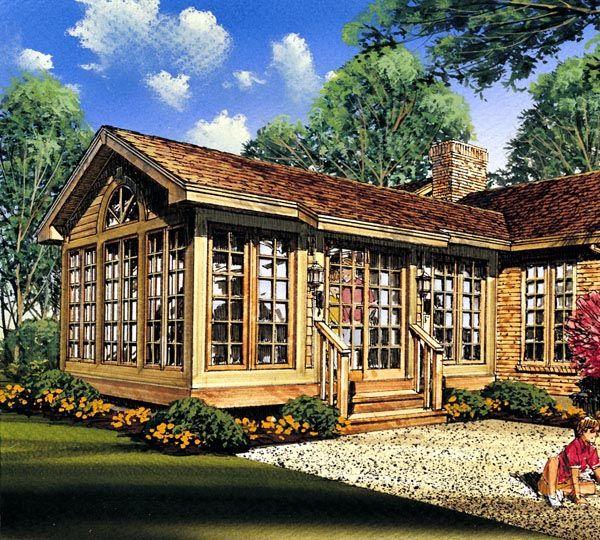 3 seasons room project plan 85935 for Four season porch plans