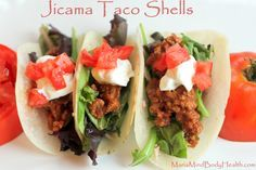 Jicama! I love it and never would have thought of this but am so excited now!!!! Tacos are my favorite food…they can be filled with so many tasty and healthy fillings. I can't wait to try this!