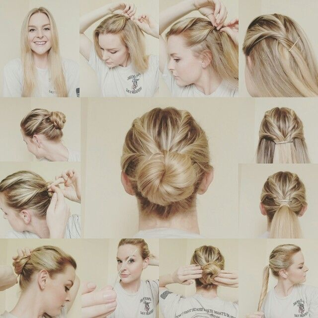 Best 25+ Military hair ideas on Pinterest Military bun - Easy Hairstyles With Braids