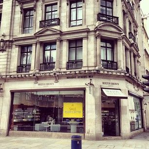'Looking forward to welcoming Regent Tweet bloggers to our flagship store in the heart of London, our home.' by @Molton Brown.