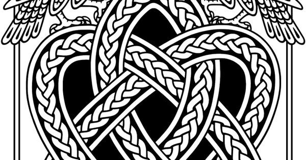 Celtic raven tattoo Celtic knots and Google on Pinterest