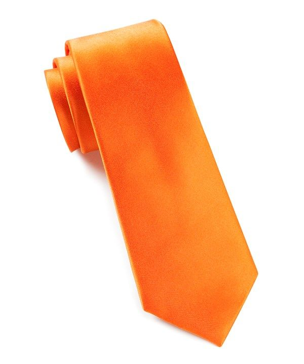 Bronco Orange Tie (clients appreciate this kind of thing)