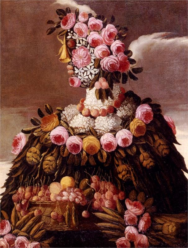 Giuseppe Arcimboldo, The Seasons, c. 1570.  Art Experience NYC  www.artexperiencenyc.com/social_login/?utm_source=pinterest_medium=pins_content=pinterest_pins_campaign=pinterest_initial